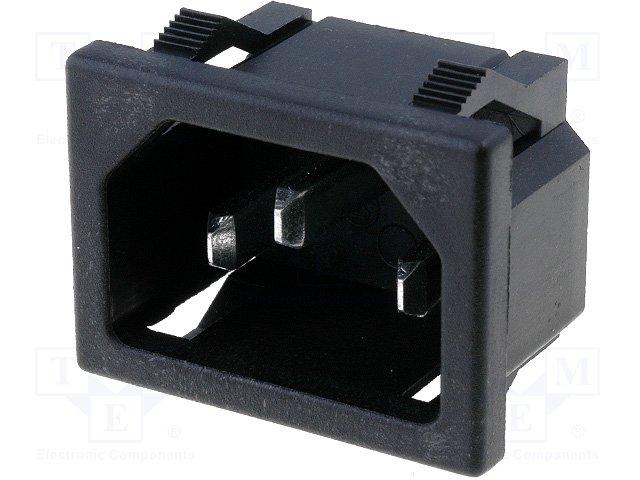 Разъeмы AC,CANAL ELECTRONIC,KS-202