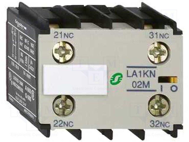 Контакторы - дополнительное оборудование,SCHNEIDER ELECTRIC,LA1KN11