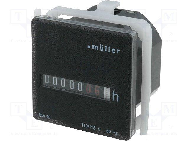 Счетчики рабочего времени,MULLER,BW4018-11550
