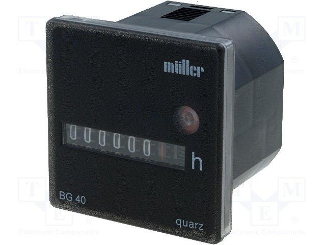 Счетчики рабочего времени,MULLER,BG4017-1248