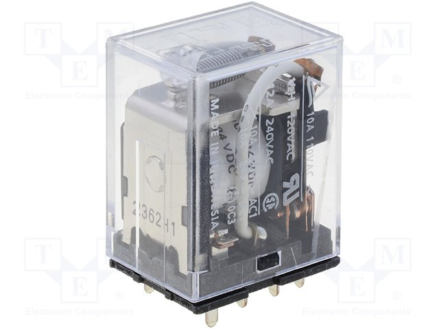 Реле электромагн. промышленные,OMRON,LY2-0 24VDC