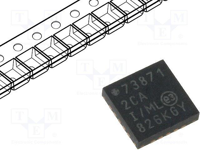 Контроллеры батарей и аккумулят. - схемы,MICROCHIP TECHNOLOGY,MCP73871-2CAI/ML