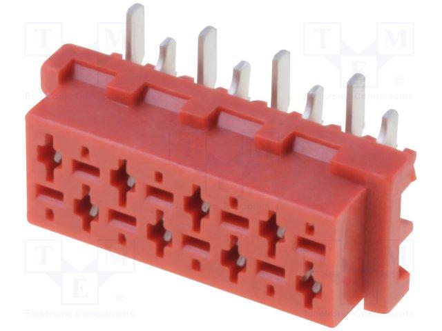 Разъeмы Micro-Match растр 1,27мм,CONNFLY,DS1015-06-08R6SR