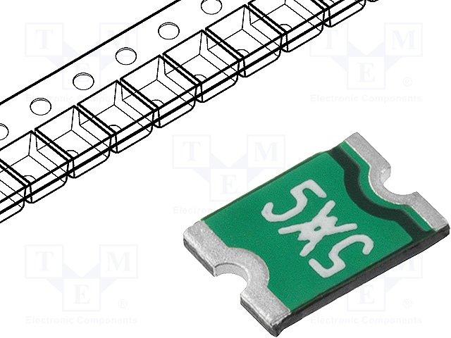 Предохранители полимерные SMD,TE CONNECTIVITY,MINISMDC050F-2