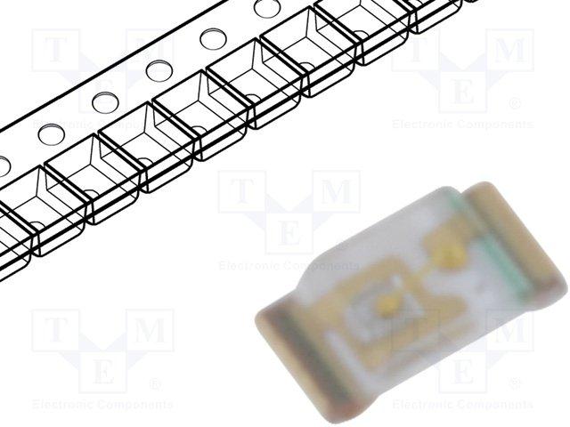 SMD colour LEDs,KINGBRIGHT ELECTRONIC,KPG-1005PBC-TT-5MAV