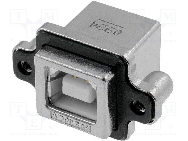 Разъeмы USB и IEEE1394,AMPHENOL,MUSB-D111-30
