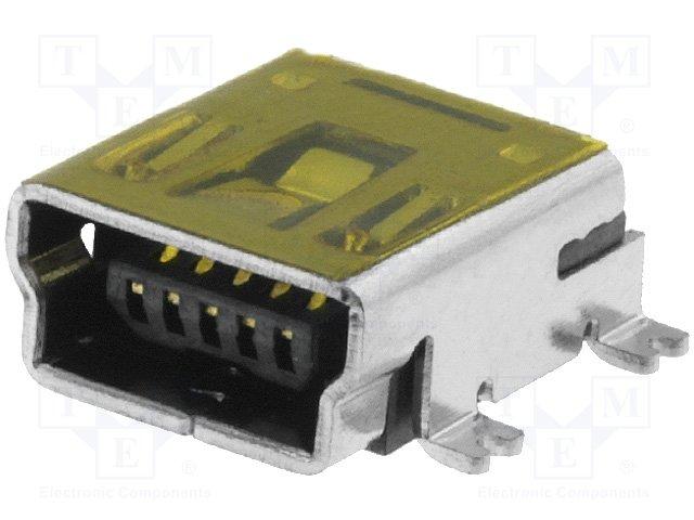 Разъeмы USB и IEEE1394,CONNFLY,DS1104-BN0SR
