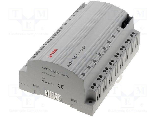 Реле прогр. основные модули,RELPOL,NEED-24DC-11-16-8R