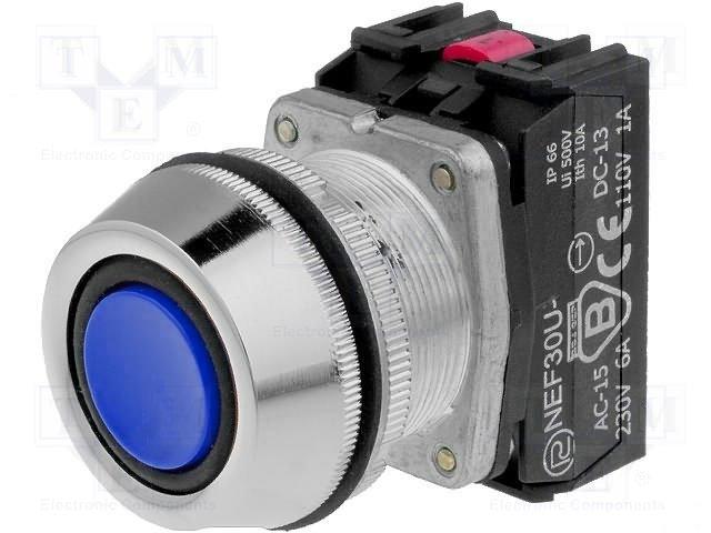 Переключатели панельные стандартные 30мм,PROMET,NEF30-UKNXY