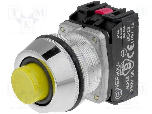 Переключатели панельные стандартные 30мм,PROMET,NEF30-UWGXY