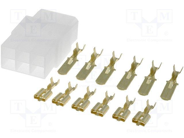 Изолированные коннекторы,OK-6MF