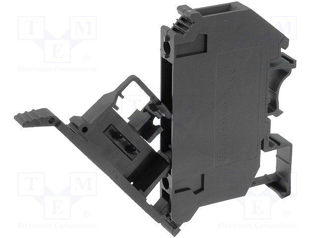 Предохранители - держатель под шину DIN,DEGSON ELECTRONICS,PC4-HE