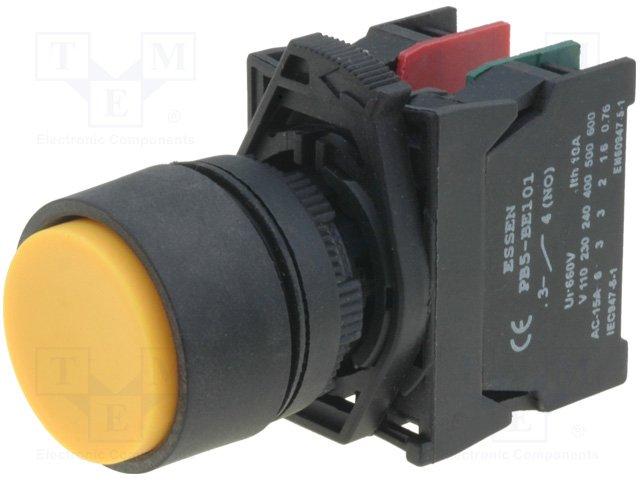 Переключатели панельные стандартные 22мм,ESSEN DEINKI,PCB5-EL(5)5