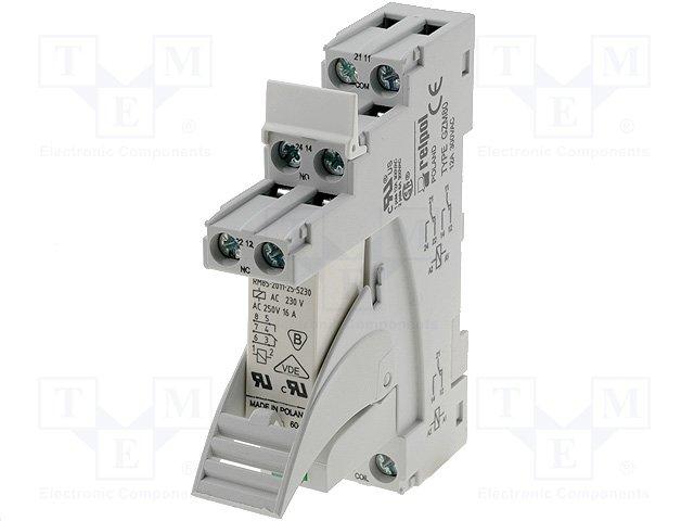 Реле электромагн. - наборы,RELPOL,PI85-230AC-00LV