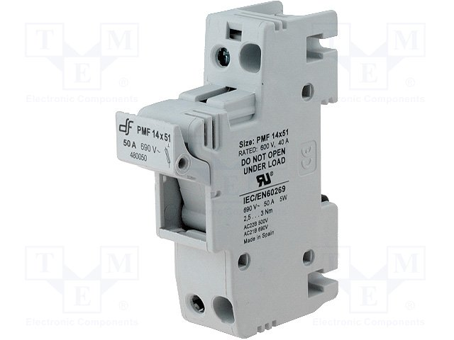 Предохранители - держатель под шину DIN,DF ELECTRIC,485201