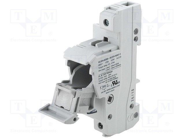 Предохранители - держатель под шину DIN,DF ELECTRIC,485301