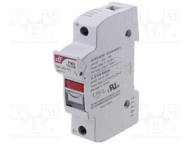 Предохранители - держатель под шину DIN,DF ELECTRIC,485114