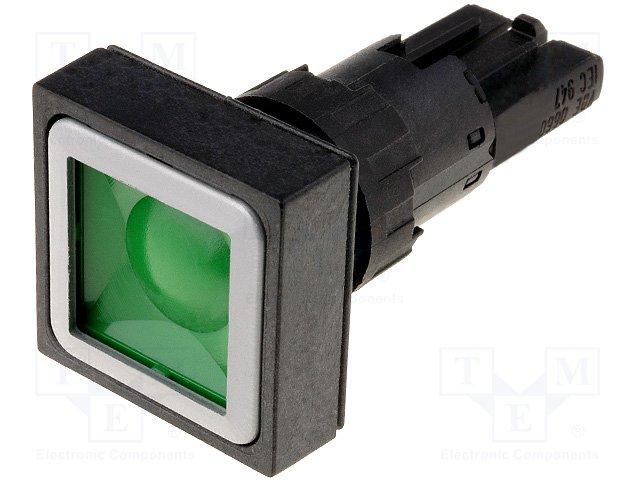 Переключатели панельные стандартные 16мм,EATON ELECTRIC,Q25D-GN