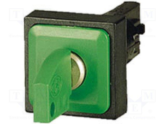 Переключатели панельные стандартные 16мм,EATON ELECTRIC,Q25S1R-GN