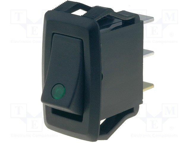 ,SCI,R13-205B2F-01 GREEN LED