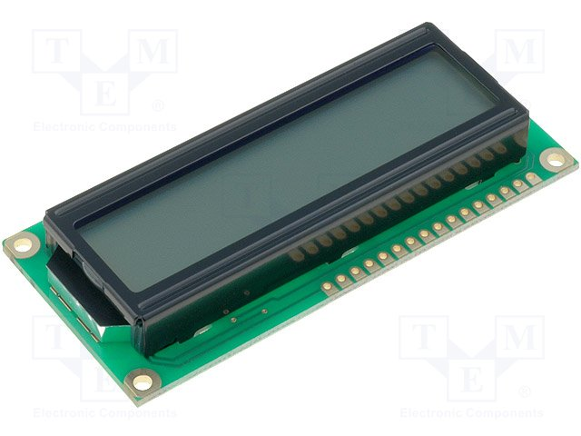 Дисплеи ЖКД буквенно-цифровые,RAYSTAR OPTRONICS,RC1602B-GHW-ESV