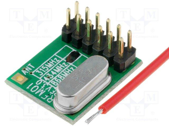Модули связи RF,HOPE MICROELECTRONICS,RFM01-433-D