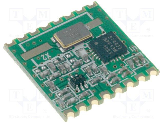 Модули связи RF,HOPE MICROELECTRONICS,RFM22B-868-S2