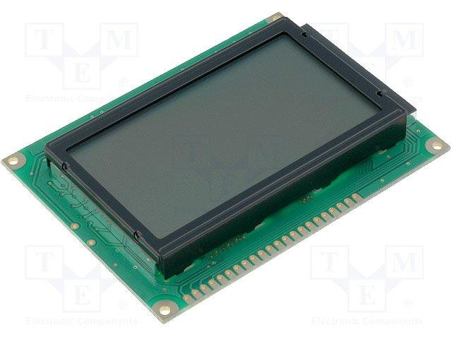 Дисплеи ЖКД графические,RAYSTAR OPTRONICS,RG12864A-GHC-V