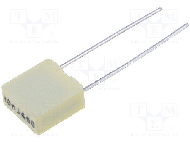 Конденсаторы полиэфирные THT,KEMET,R82MC2100DQ50J