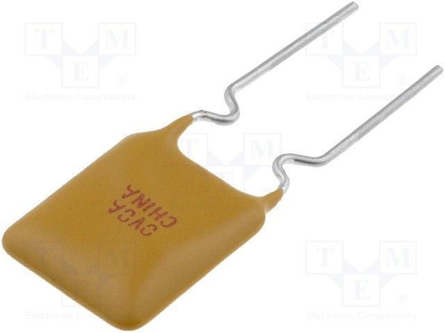 Предохранители полимерные THT,TE CONNECTIVITY,RUEF160