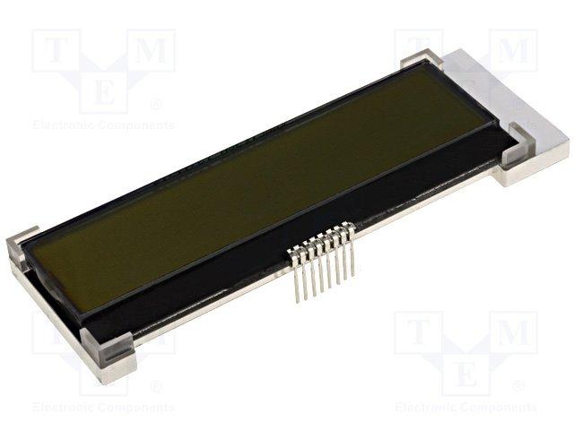 Дисплеи ЖКД буквенно-цифровые,RAYSTAR OPTRONICS,RX1602A3-FHW-TS