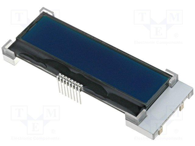 Дисплеи ЖКД буквенно-цифровые,RAYSTAR OPTRONICS,RX1602A4-BIW-TS