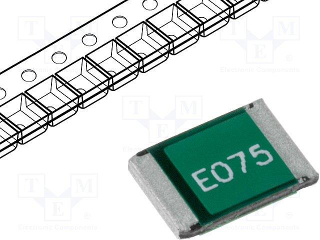 Предохранители полимерные SMD,ECE,SD075-16