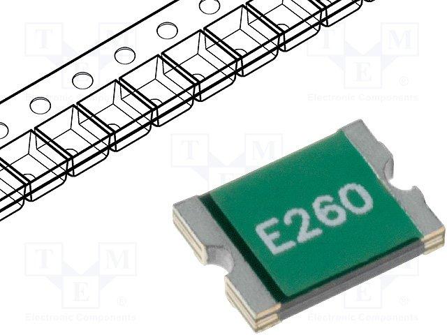 Предохранители полимерные SMD,ECE,SD260-06