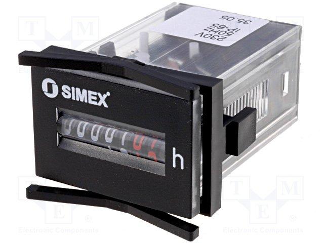 Счетчики рабочего времени,SIMEX,HK30.G.48.230VAC/50HZ