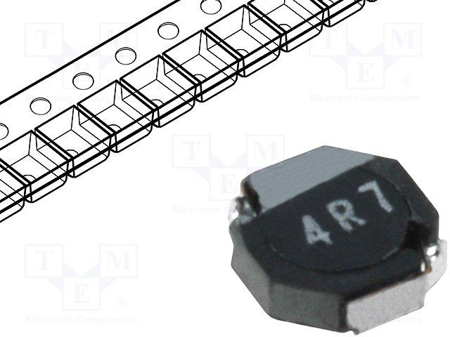 Дроссели SMD мощности,TDK,VLF3010AT-4R7MR70