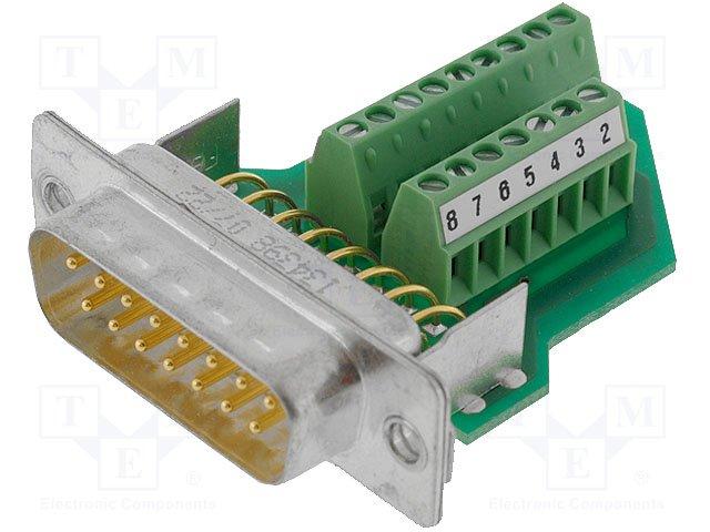 Разъeмы D-Sub,PHOENIX CONTACT,VS-15-ST-DSUB/16-MPT-0,5 1688078