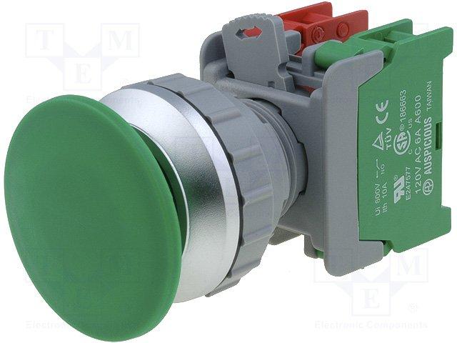Переключатели панельные стандартные 30мм,AUSPICIOUS,XE30-1O/C G