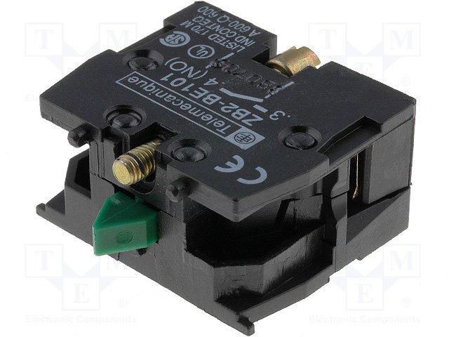 Переключатели панельные стандартные 16мм,SCHNEIDER ELECTRIC,ZB2BE101