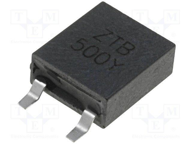Фильтры и резонаторы керамические SMD,ZTB500Y
