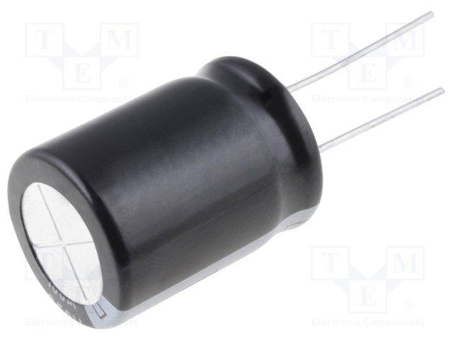 Конденсаторы электролитические THT 105°C,ELITE,PV2W220MNN1225