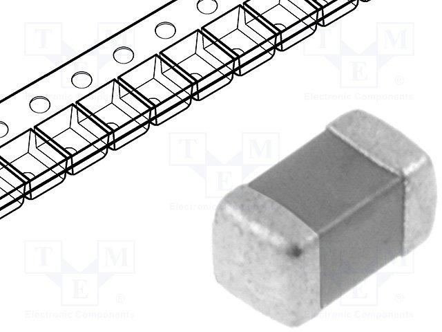 Конденсаторы MLCC SMD 0603,KEMET,C0603C225K9PAC7867