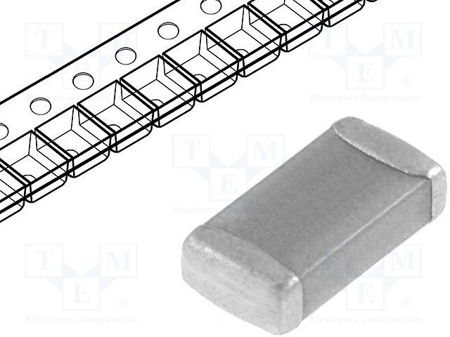Конденсаторы MLCC SMD 1206,WALSIN,1206B471K102CT