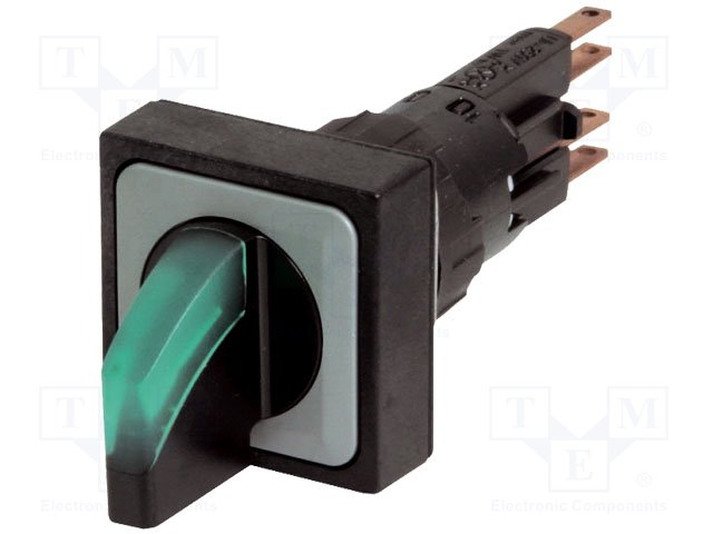 Переключатели панельные стандартные 16мм,EATON ELECTRIC,Q25LWK3R2-GN