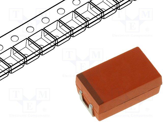 Конденсаторы ниобиевые SMD,AVX,NOSD337M004R0035