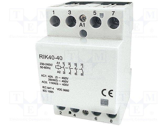 Контакторы - главные модули,ISKRA SISTEMI,IK40-04(24VDC)