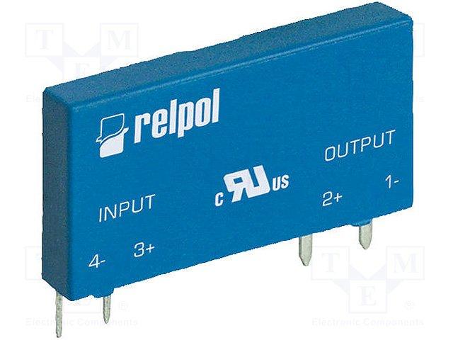 Реле SSR однофазные,RELPOL,RSR30-D05-D1-02-040-1