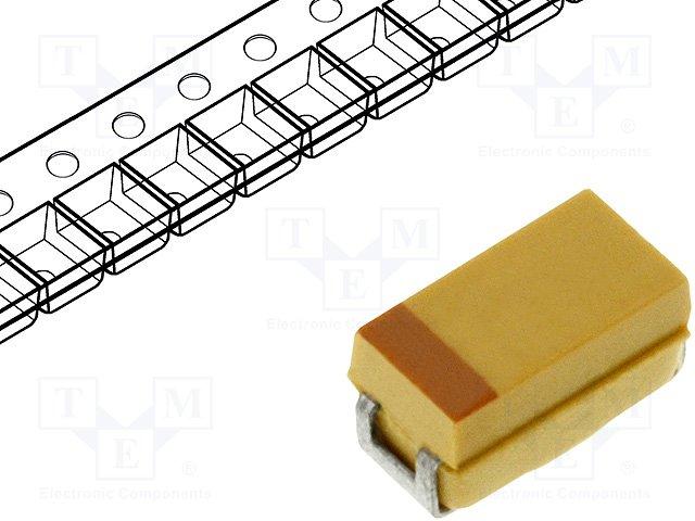 Конденсаторы танталовые SMD,AVX,TPSA105K035R3000