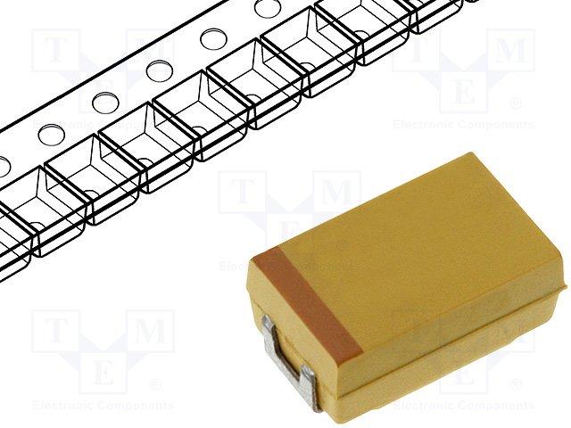 Конденсаторы танталовые SMD,AVX,TPSD107K010R0065