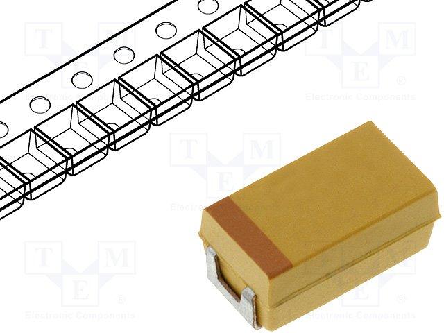 Конденсаторы танталовые SMD,AVX,TPSC337K006R0080